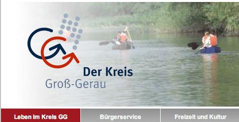 Landkreis Groß-Gerau im neuen Look online.