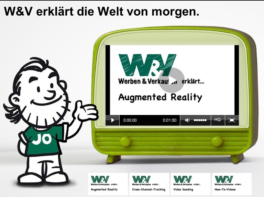 W&V: Augmented Reality- die Welt von morgen!